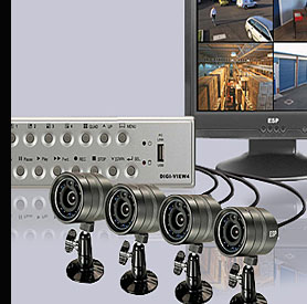 Digiview 4 Home CCTV System