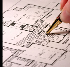 Adding lighting detail to the plan of a new home