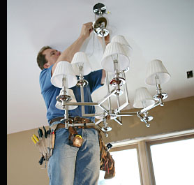 Installing a new pendant ceiling light