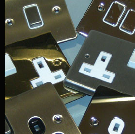 Part of our wide range of decorative switches and sockets
