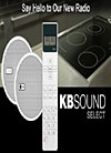 KbSound - Almost Invisible Sound for Kitchens and Bathrooms